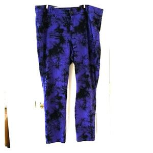 Lane Bryant Tie Dye Jeggings